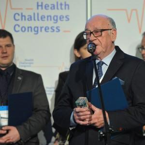 Nagrodę dla powiatu poznańskiego odebrał Zygmunt Jeżewski, członek zarządu powiatu w Poznaniu.
