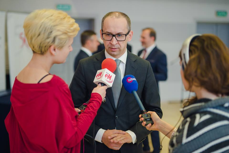 Przewodniczącym GZM jest Kazimierz Karolczak (fot. Facebook/Metropolia GZM)
