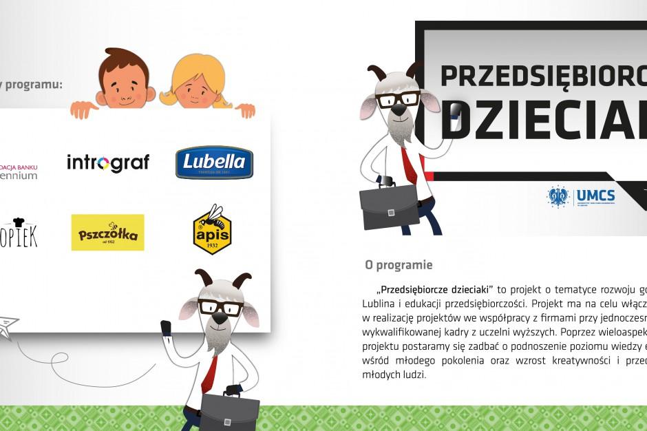 Lublin nauczy dzieci przedsiębiorczości
