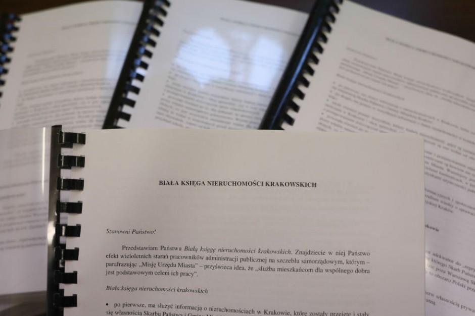 Reprywatyzacja w Krakowie. Oto biała księga uratowanych kamienic