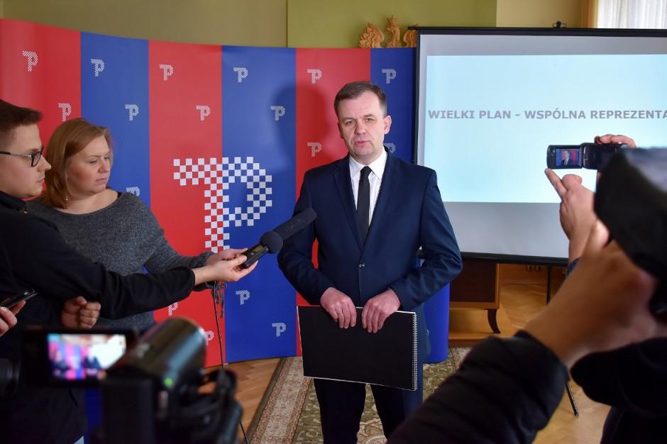 Piotrków Trybunalski ma nowe logo nawiązujące do haftu piotrkowskiego