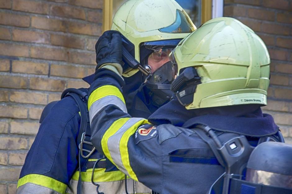 Łódź: Wybuch w bloku.  Jedna osoba ranna