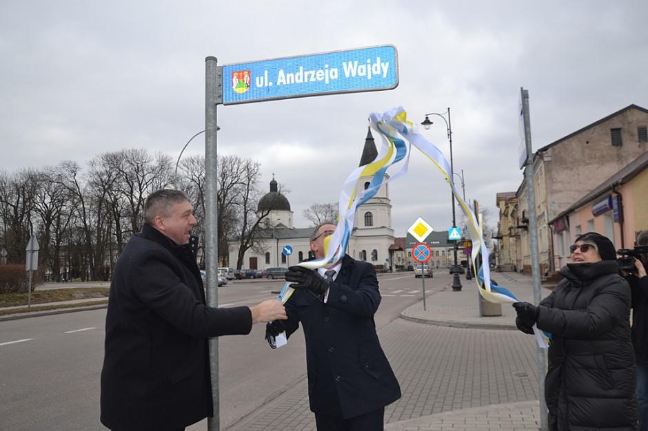 Suwałki: odsłonięcie ulicy imienia Andrzeja Wajdy