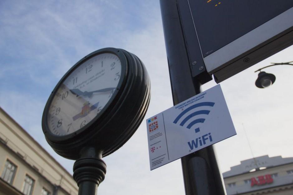 Kraków. Bezpłatne WiFi na przystankach