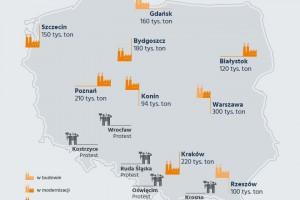 Spalarnie odpadów w Polsce: Miasta chcą budować, mieszkańcy pełni obaw