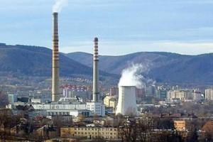 Kominy elektrociepłowni w Bielsku-Białej do wyburzenia