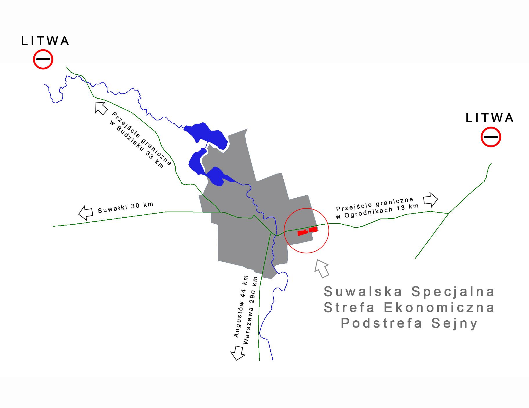 Suwalska Specjalna Strefa Ekonomiczna - Podstrefa Sejny (fot.ssse.com.pl)