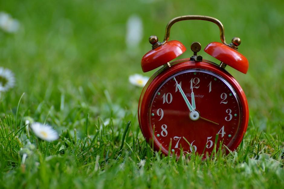 Zmiana czasu na letni: W weekend przestawiamy zegarki