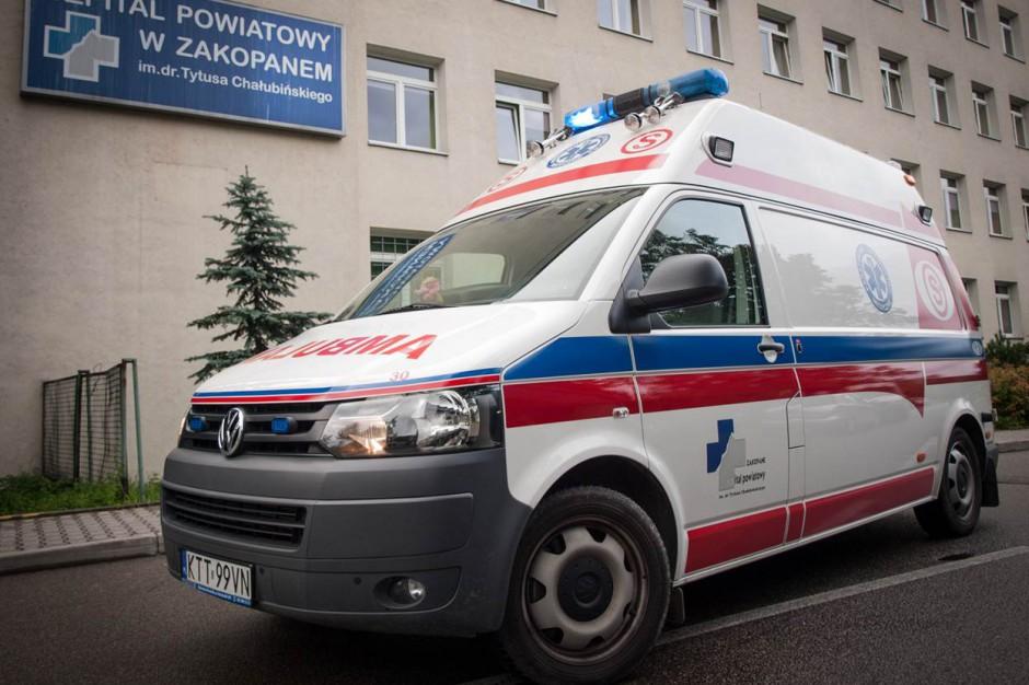"""""""Szpitale powiatowe powinny być uznane za priorytetowe"""""""