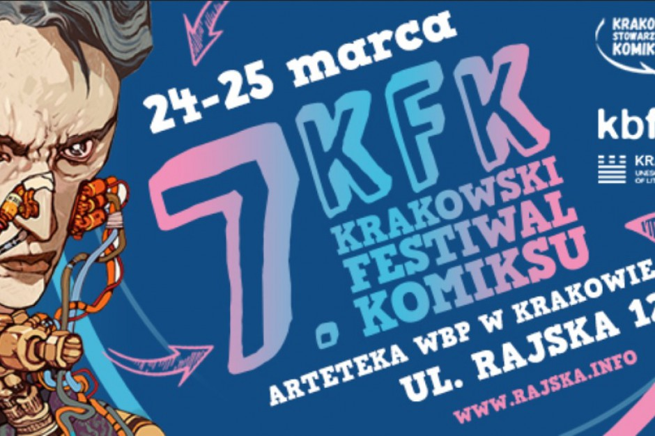 Kraków: W weekend Festiwal Komiksu