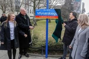 Wrocławski skwer z imieniem Wojciecha Młynarskiego