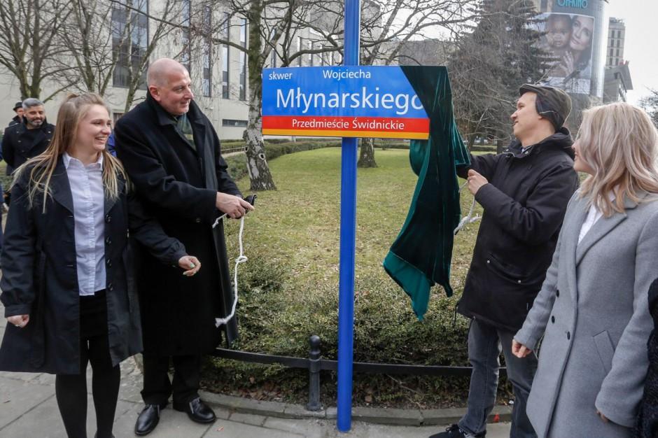 Skwer przy wrocławskim teatrze Capitol otrzymał imię Wojciecha Młynarskiego