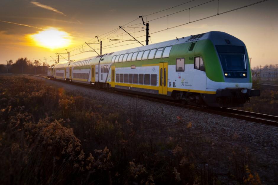 Koleje Mazowieckie zaciągają kredyt. Chcą kupić nowe pociągi