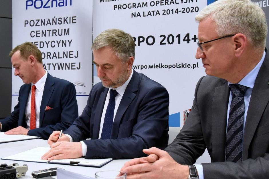 Blisko 6,6 mln zł unijnej dotacji na wyposażenie Poznańskiego Centrum Medycyny Senioralnej