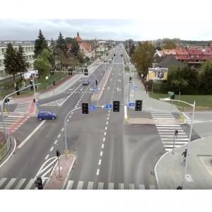 <p>Przebudowa ulicy Suwalskiej polegała m.in. na przebudowie skrzyżowania z ul. Łukasiewicza.</p>