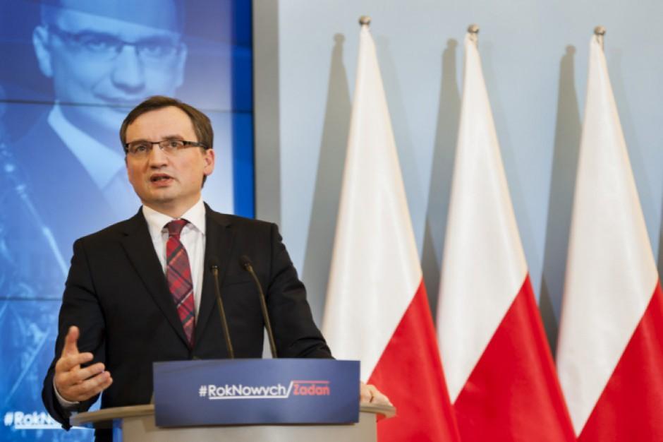 Zbigniew Ziobro: Dotychczasowe zarzuty ws. reprywatyzacji w Warszawie to wierzchołek góry lodowej