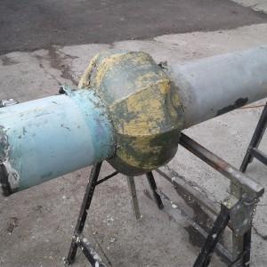 Kapsuła znajdowała się w metalowej rurze (Fot. UG Strumień)