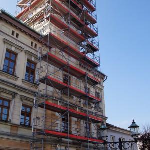 Trwa remont najstarszego ratusza w woj. śląskim (Fot. UG Strumień)