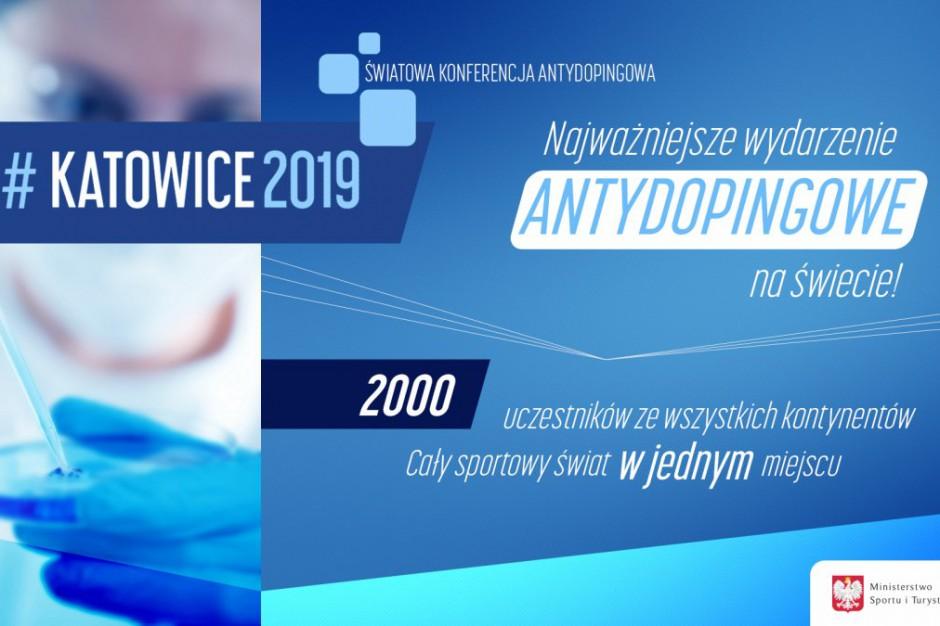 Światowa Konferencja Antydopingowa w Katowicach. Umowa podpisana
