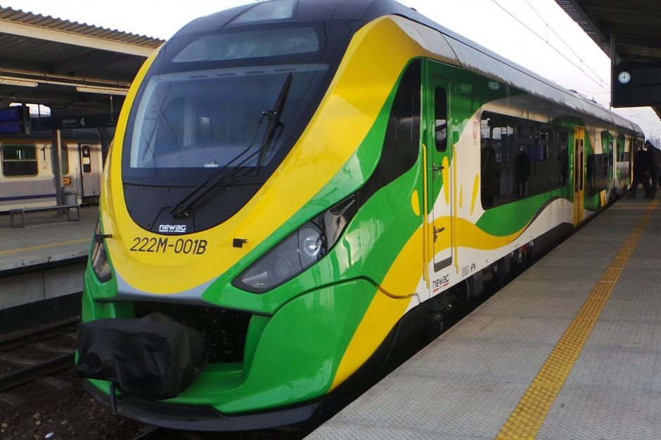 Koleje Mazowieckie. 580 mln zł unijnej dotacji na zakup nowych pociągów