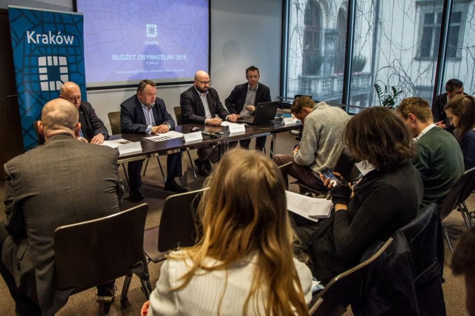 Blisko 700 propozycji w budżecie obywatelskim Krakowa
