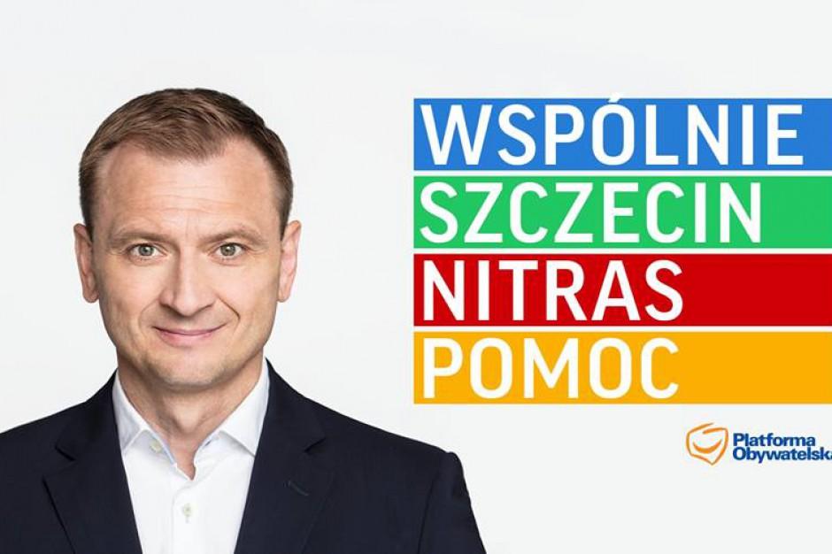 Przedwczesna kampania kandydata na prezydenta Szczecina. PKW nie zajmuje stanowiska