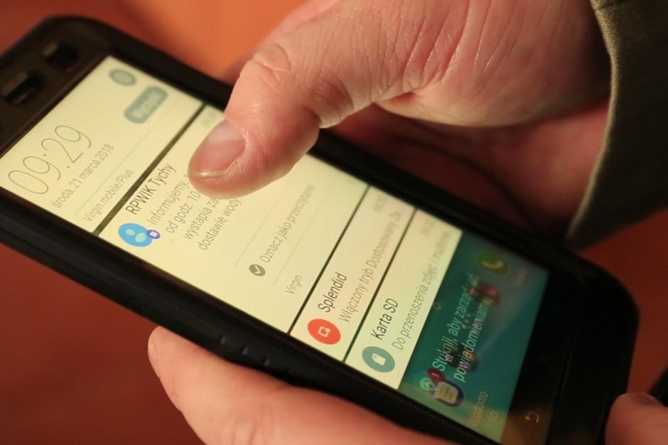 Wodociągi w Tychach SMS-ami ostrzegają o zakłóceniach dostaw wody