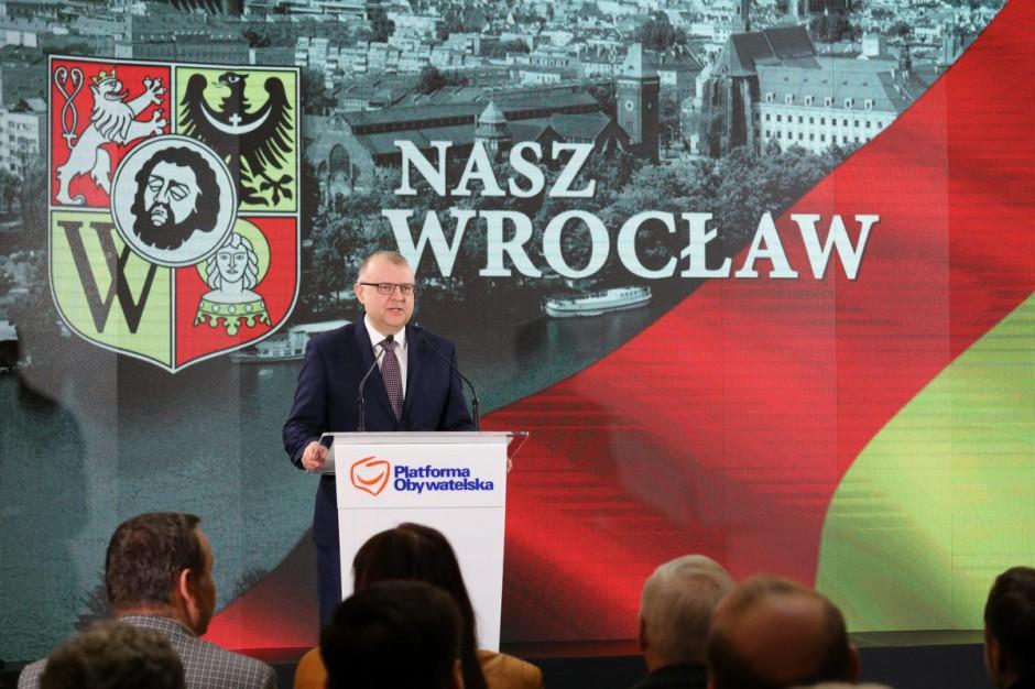 Ujazdowski nie chce być we Wrocławiu prezydentem kontynuacji