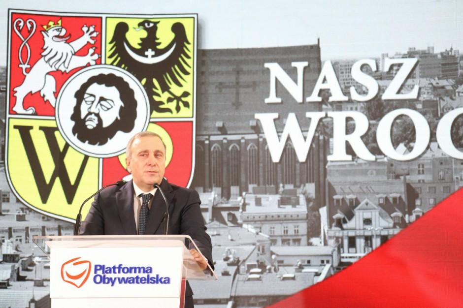 Grzegorz Schetyna: będziemy musieli bronić również pensji samorządowców i inwestycji