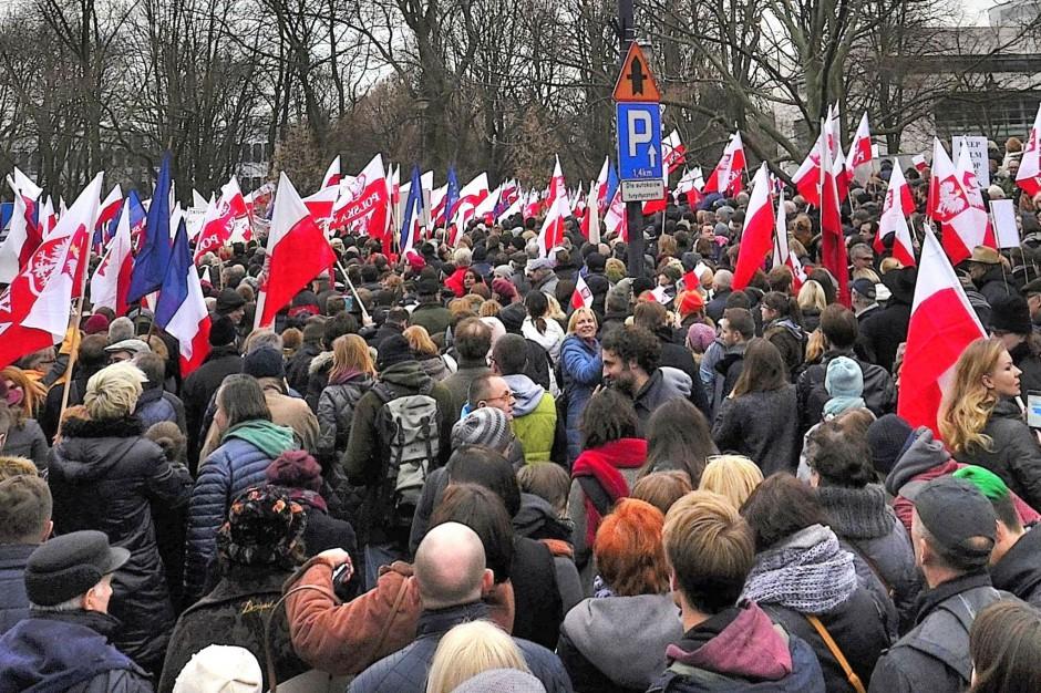 Żona prezydenta Poznania przed sądem za wypowiedź na demonstracji