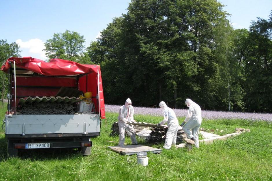 Na Podlasiu rozpoczął się nabór wniosków o dofinansowanie usuwania azbestu