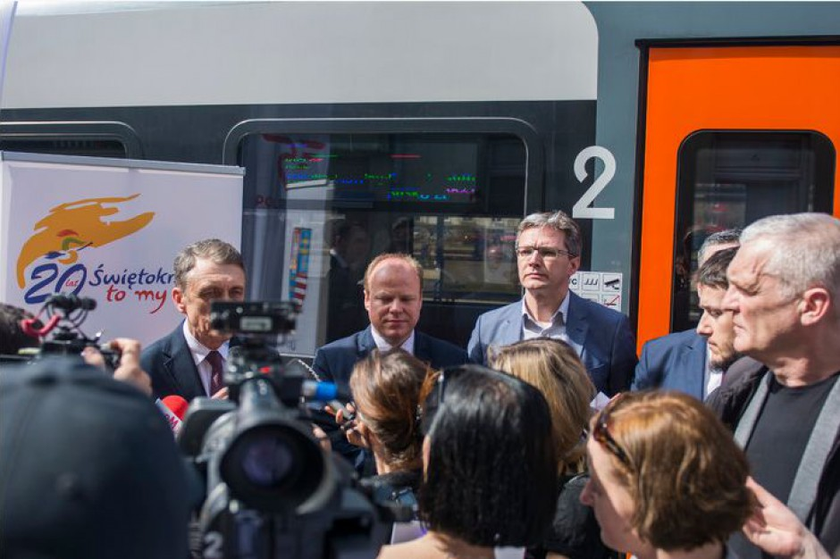 Będzie wakacyjne połączenie kolejowe z Kielc do Buska Zdroju