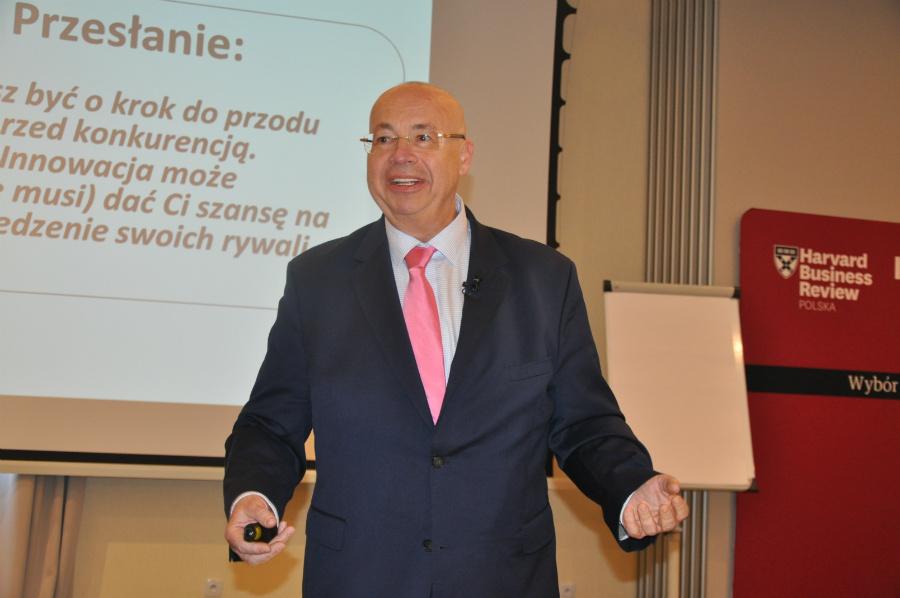 """dr Witold Jankowski, redaktor naczelny """"Harvard Business Review Polska"""" Fot. UM Częstochowa"""