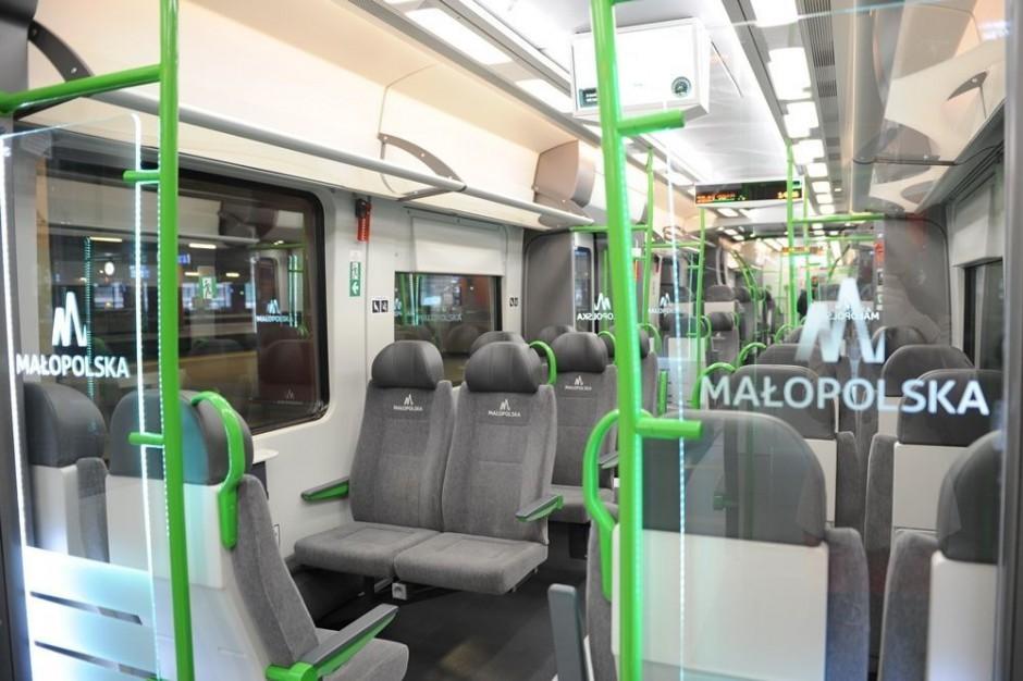 Pasażerowie zdecydowali, jak będą wyglądać nowe pociągi w Małopolsce