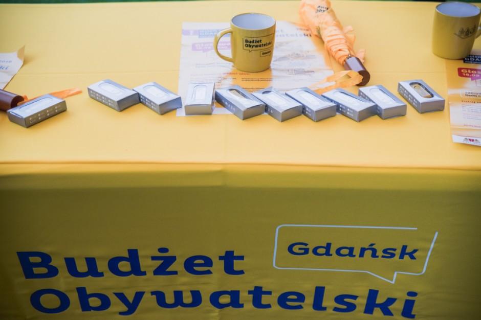Gdańsk. 410 projektów do Budżetu Obywatelskiego 2019