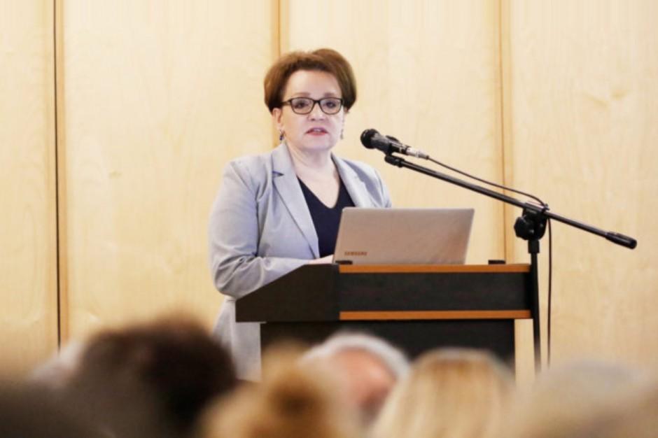 Anna Zalewska: Reforma edukacji była potrzebna
