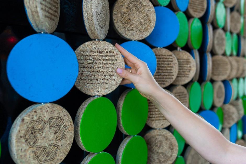 Ekologiczne instalacje w Urzędzie Miasta w Katowicach informują i promują COP24