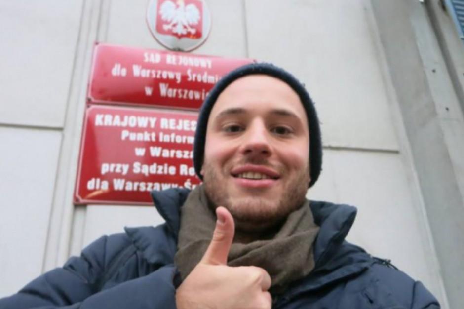 Warszawa, Jan Śpiewak: Jestem gotowy, by wystartować w wyborach na prezydenta