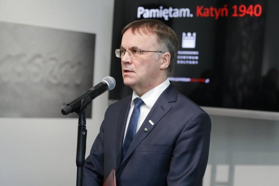 Jarosław Sellin o wynajmie sali BHP Obozowi Narodowo-Radykalnemu
