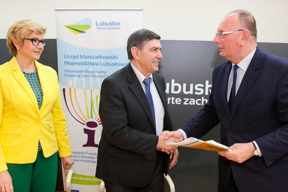 Umowy na dofinansowanie infrastruktury turystycznej i rekreacyjnej w Lubuskiem