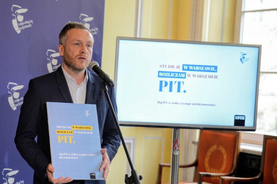 Warszawa walczy o podatek z PIT. Rusza kampania promocyjna