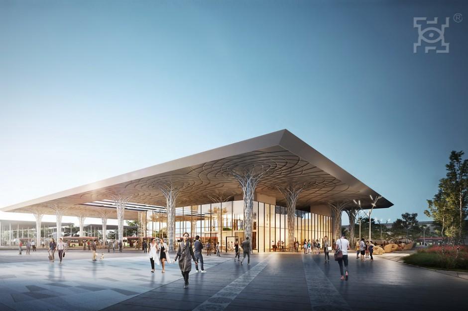 Gotowa jest koncepcja nowego dworca metropolitalnego w Lublinie
