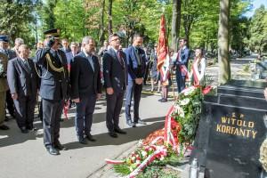 Samorządowcy uczczili 145. rocznicę urodzin Wojciecha Korfantego