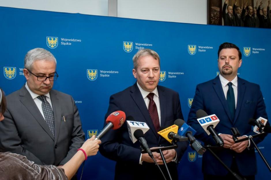 Pożar składowiska w Siemianowicach Śląskich. Marszałek Saługa zapowiada kroki prawne