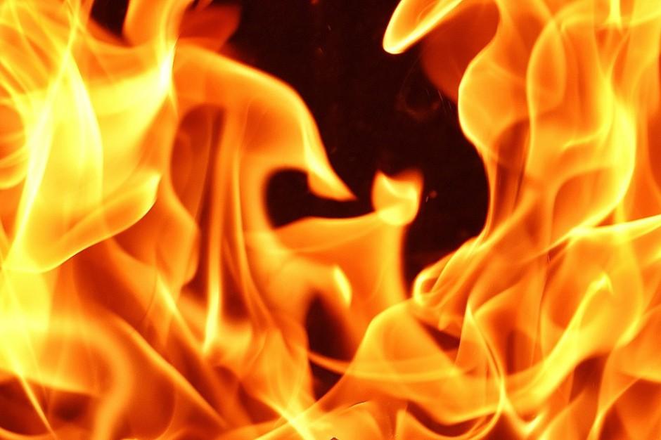 Mysłowice: Pożar w budynku dawnej kopalni
