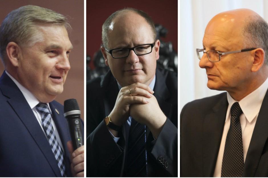 Tadeusz Truskolaski, Paweł Adamowicz, Krzysztof Żuk o kandydatach PiS na prezydentów miast