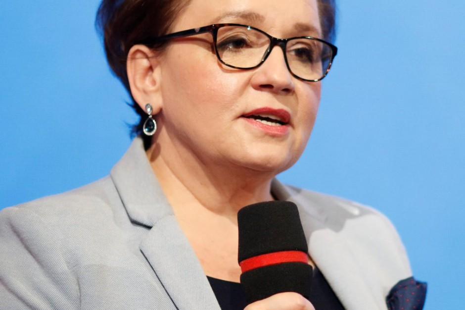 """Anna Zalewska: Nie ma """"podwójnego rocznika"""", mamy prawie 50 tys. wolnych miejsc"""