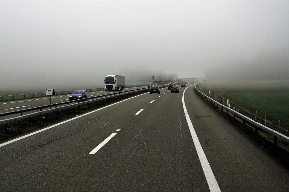 Wypadek na autostradzie A2. Utrudnienia w ruchu