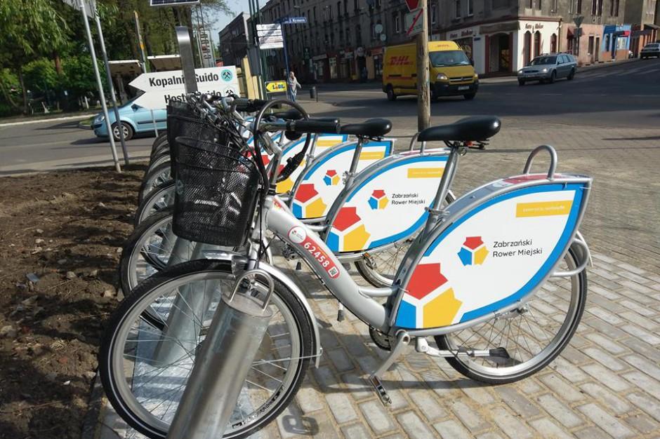 Ruszają miejskie rowery w Zabrzu