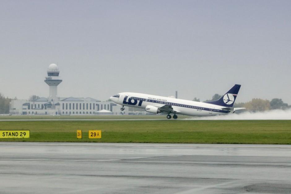 Podkarpacie: LOT zainaugurował loty z Jasionki do Nowego Jorku
